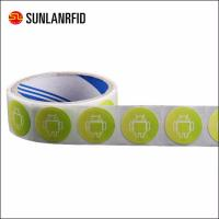 China NFC Paper roll Rfid Tag NFC sticker wholesale