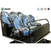 China Pneumatic / Hydraulic / Electronics Motion Theater Chair For 5D Cinema Theater wholesale