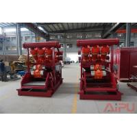 Quality No dig drilling fluids process Hunter series mud cleaner at Aipu solids control for sale