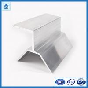China Aluminum Extrusion for Solar Panel Bracket, Industrial Aluminum Profile on sale