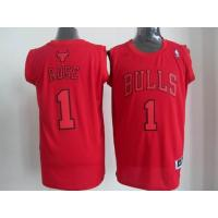 China NBA Chicago Bulls 1 Rose Christmas Day Jersey wholesale