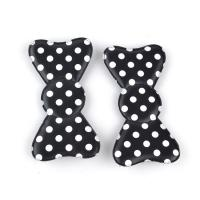 China Beautiful Bright Blue Hair Accessories Clips In Butterfly Shape , Hook Loop Hair Bow wholesale