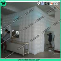 China Inflatable Cube Tent,Event Customized Inflatable Tent,Lighting Inflatable Tent wholesale