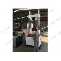 China 380V 50HZ UTM Universal Testing Machine , Servo Hydraulic Universal Tensile Tester on sale