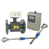 China IP65 / IP67 / IP68 Divided Type Electromagnetic Flow Meter in High temperature wholesale