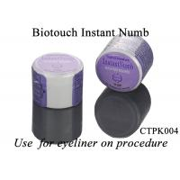 Quality Skin Relief Tattoo Topical Anesthetic Cream Biotouch Instant Numb For Eyeliner for sale