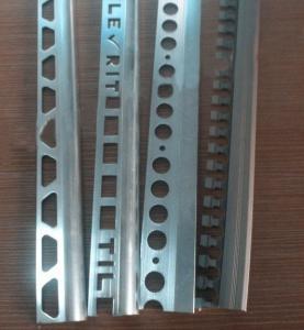 China Silver Aluminium Ceramic Tile Trim Window Curtain Accessories For Decoration wholesale