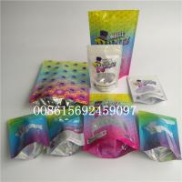 China Smell Proof Herbal Incense Packaging Mylar Foil Ziplock Holographic Packaging Runtz Stand Up Bags wholesale