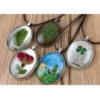 Home Decoration Small Pressed Flowers , Pressed Flower Gifts For Necklace Accessories