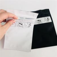 China Child Proof Reusable Ziplock Bags , Mylar Stand Up Pouch Gravure Printing wholesale