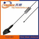 China 1 section spring form fiber mast car antenna/ passive car antenna TLD1381 wholesale