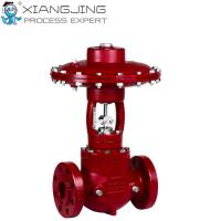 China High Pressure Pneumatic Actuator , Cage Guided Balanced Pneumatic Rotary Actuator wholesale