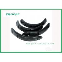 China Yamaha Drive Golf Cart Fender Flares Set Of Four Textured Black Surface Finish on sale