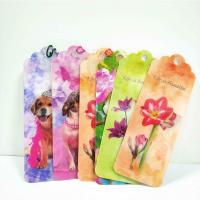 China Unique Lenticular 3D Animal Bookmarks With Tassel For Gifts And Souvenirs on sale