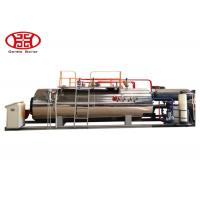 China 1 T/H Industrial Fire Tube Natural Gas Boiler , Diesel Oil Dual Fuel Fired Steam Boiler wholesale