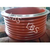 China High Strength Steel Lebus Grooved Drum Cable Winch Drum / Rope Drum wholesale