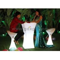 China LED plastic bar stools&outdoor bar chair&outdoor furniture wholesale