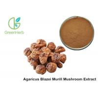 China Health Supplement Herbal Plant Extract Agaricus Blazei Murill Mushroom Extract Powder wholesale