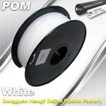 China POM 3D Printer makerbot filament 1.75 / 3.0mm 1.3Kg / Roll Filament wholesale