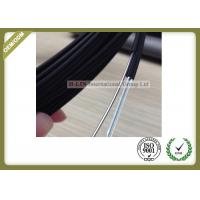 China Black Color FTTH Fiber Optic Cable Non - Metal Strength Member With LSZH Outer Jacket wholesale