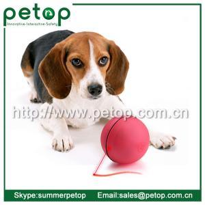 China LED ball pet toy, Electronic dog toy, Plastic LED ball dog toy on sale