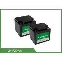 China Deep Cycle Lithium LiFePO4 Rechargeable Battery 24V 20Ah for Golf Cart / Golf Trolley wholesale