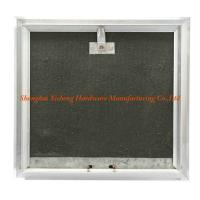 China Light Steel Keel  PVC Access Panel , Black Gypsum Board Trapdoor wholesale