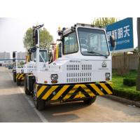 China HOVA Terminal Tractor For Port 4x2 266hp loading 50t-90t yellow white red color wholesale
