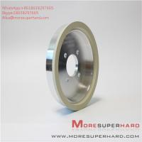 China 6A2 150D 10W W10 ceramic bonded diamond cutter grinding cup type high efficiency grinding wheel Alisa@moresuperhard.com wholesale