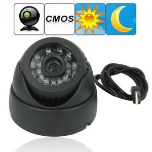 "China Dome 1/4"" CMOS CCTV Surveillance TF Card DVR Camera Home Office Hidden Security Monitor Digital Video Recorder wholesale"