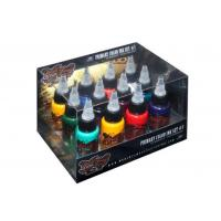China Personal Body Eternal Tattoo Ink Set Safety Easy Coloring Dry Faster on sale