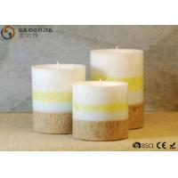 China gaoerjia lovely 3 Set Flameless Battery Operated LED Pillar Candles wholesale