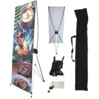 Buy cheap Outdoor Advertising Display X Banner double-sided Water proof Feature from wholesalers