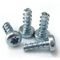 China High Accuracy Steel Zinc Flat Head Screw Mild Steel Material 4.8 Grade ISO 7046.1 wholesale