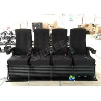 China 80 People Motion Chair 4D Theatre Equipment Dynamic System For Shopping Mall wholesale
