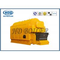China Industrial Coal / Wood Fired Biomass Fuel Boiler , Wood Chip Steam Boiler wholesale