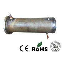 China Precision Air Cooled Condenser , Tube And Tube Heat Exchanger For Refrigeration Unit wholesale