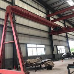 China Electric Semi Gantry Crane Light Duty Semi Single Girder Gantry Crane wholesale