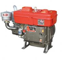 China Automobile 1 Cylinder Diesel Engine , 24hp L24 Electric Water Cooled Diesel Engine wholesale