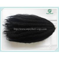 China Japanese kanekalon synthetic mary braid hair extension afro kinky hair1#color  16''-22''. on sale