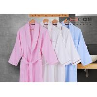 China Stripe Style Hotel Style Bathrobes Long Sleeve For Winter DT0016 wholesale
