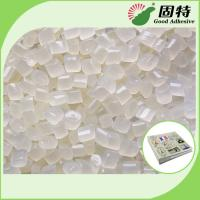 China Light Yellow Granule EVA And Viscosity Resin Hot Melt Adhesive For Papers Fixation Of Flat Back Album on sale