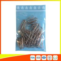 China Zip Seal Plastic Packing Ziplock Bags Resealable With Symbol Ree Line On The Flap wholesale