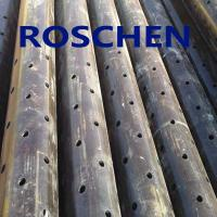 Quality Slotted Pipe , Carbon Steel Tube , Oil Screen Tube Control Sand Coring Drilling for sale