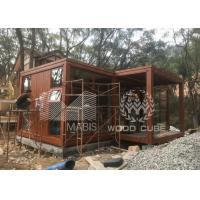 China Customized Size Prefab Tiny House With Galvanized Q550 Light Steel Frame wholesale