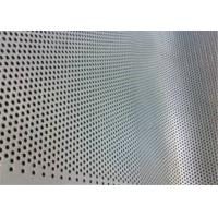 China Commercial Perforated Metal Mesh Kitchen Wall Covering Long Service Life wholesale