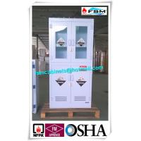 China Polypropylene Hazardous Material Storage Cabinets With Window For Laboratory / Chemical wholesale