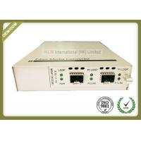 China Standalone Type Optical Media Converter 10G - BASE - FX With Full State LED Display wholesale