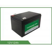 China 12V 12Ah Professional Prismatic Lithium Batteries For Golf Carts Fast Charging wholesale