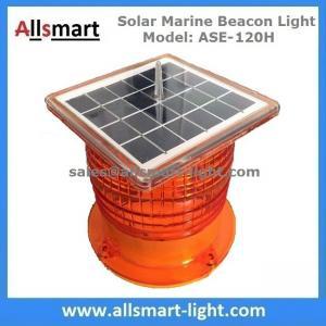 China 3NM Solar Powered LED Marine Beacon Lights Marine Lantern for Navigation Aquaculture Offshore Buoys Ports Harbors wholesale